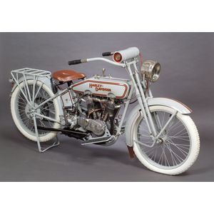 *1916 Harley Davidson Twin Motorcycle, Vin # L10487M
