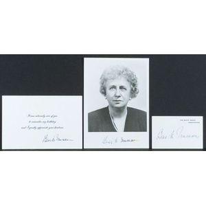 Truman, Bess Wallace (1885-1982)