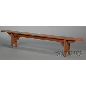 Shaker Pine Bittersweet Bench