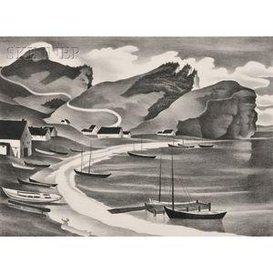 Vera Andrus (American, 1896-1979)      Les Trois Soeurs