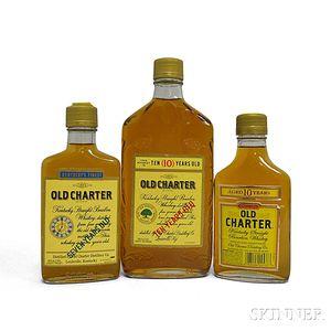 Old Charter Bourbon, 2 200ml bottles1 375ml bottle