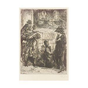 John Sloan (American, 1871-1951)  Bandits Cave,