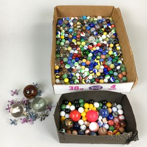 Group of Glass Marbles
