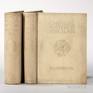 Hobson, R.L. (1972-1941) Chinese Pottery and Porcelain.