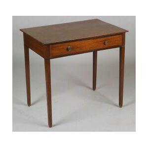 George III Mahogany Side Table
