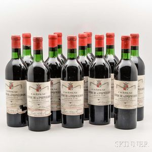 Chateau Latour a Pomerol 1970, 12 bottles