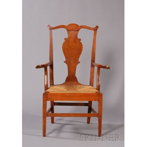 Federal Birch Armchair