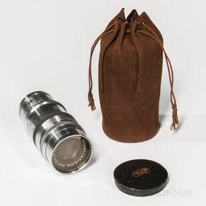 Carol Zeiss 8.5cm f/4 Triotar Lens