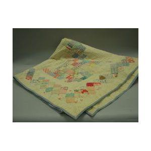 Pieced Cotton Quilt.