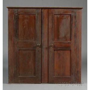 Shaker Pine Two-Door Cabinet