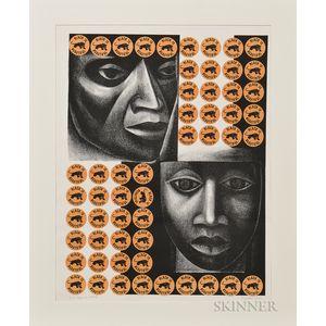 Elizabeth Catlett (American, 1915-2012), Negro es bello