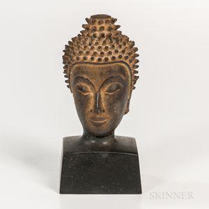 Bronze Head of Buddha