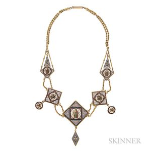 Micromosaic Necklace