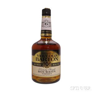 Very Old Barton Bourbon 6 Years Old, 1 750ml bottle