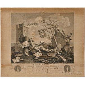 William Hogarth (English, 1697-1764)    The Bathos