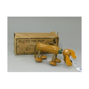 Wood Pluto The Pup Flexi-Toy
