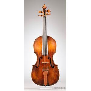 French Violin, c. 1870, After Giovanni Paulo Maggini, Probably Derazey Workshop
