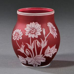Webb Cameo Vase