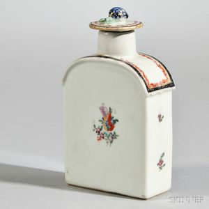 Export Famille Rose Tea Caddy