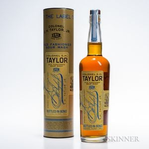 Colonel EH Taylor Old Fashioned Sour Mash, 1 750ml bottle (ot)