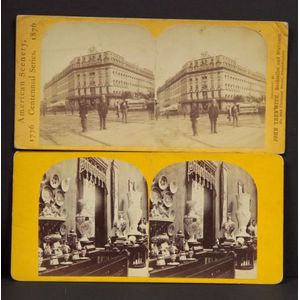 Stereoscopic Views of European and American Exhibitions