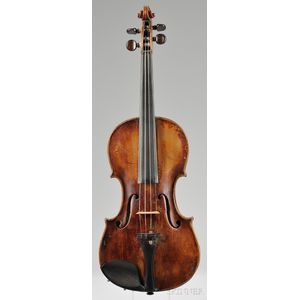 Saxon Violin, c. 1820