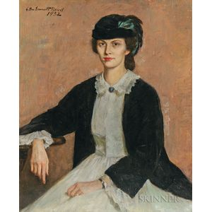 Ellen Gertrude Emmet Rand (American, 1875-1941)      Brown-eyed Girl