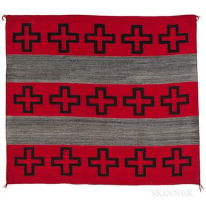 Navajo Hubbell Revival Blanket