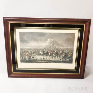 The Bedale Hunt   Lithograph