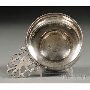 Colonial Coin Silver Porringer