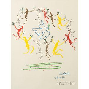 After Pablo Picasso (Spanish, 1881-1973)      Ronde de la Jeunesse