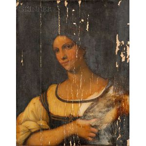 After Sebastiano Luciani, called Sebastiano del Piombo (Italian, 1485-1547)      Portrait of a Woman.