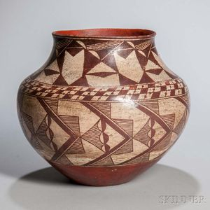 Acoma Painted Pottery Jar