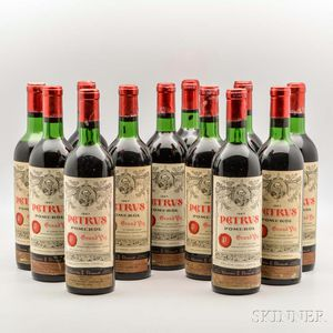 Chateau Petrus 1967, 12 bottles