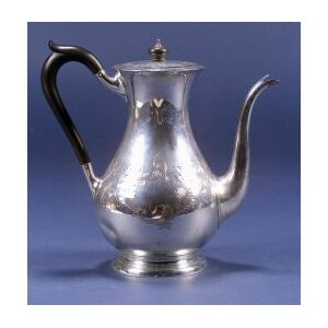 Canadian Silver Coffeepot