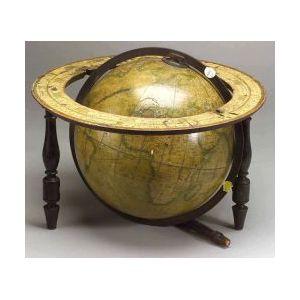 Wyld's Twelve Inch Terrestrial Table Globe