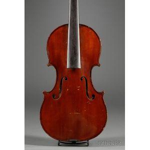 French Violin, Charles J.B. Collin-Mezin, Mirecourt, c. 1925