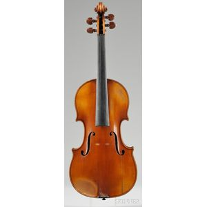 French Violin, Amedee Dieudonne Workshop, Mirecourt, 1938