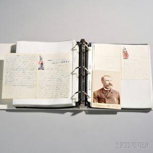 Civil War Letters with Transcriptions of David Sharpe, 1st Connecticut Heavy Artillery