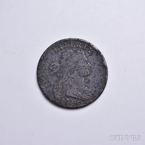 1796 Reverse of 1794 Draped Bust Large Cent