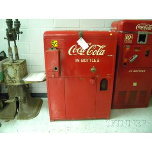 Coca-Cola 5-Cent Bottle Vending Machine