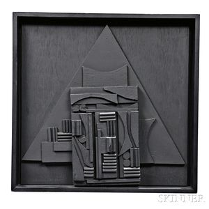 Louise Berlianwsky Nevelson (1899-1988) Untitled/Sculpture for the American Book Award