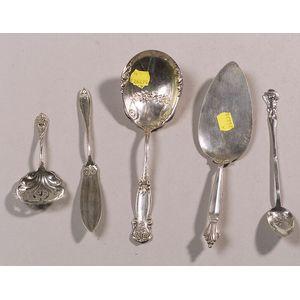 Twenty-eight Pieces of Sterling Silver Flatware