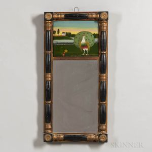 Split-baluster Mirror with Peacock