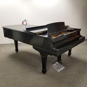 Steinway & Sons Ebonized Model B Piano and Stool
