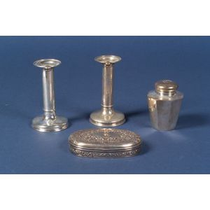 Four Small Tiffany & Co. Sterling Articles