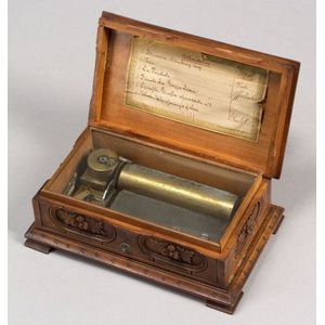 Blackforest Mandoline Tabatiere Musical Box