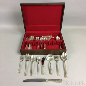 R. Blackinton & Co. Partial Sterling Silver Flatware Service