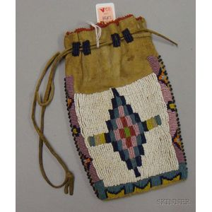 Apache Beaded Pouch
