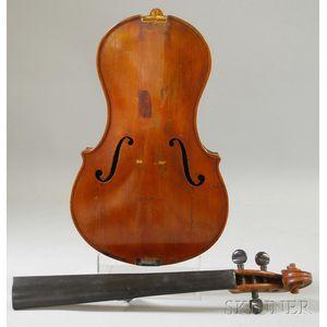 Modern Viola, Johannes Folkin, Gleiwitz, c. 1900